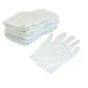Other - 10 Pair Anti-static skid Gloves ESD PC Computer
